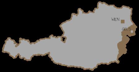 Karte Österreich Gols