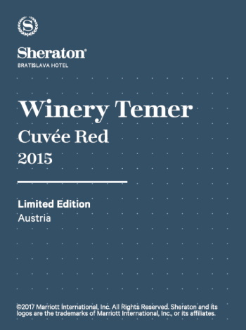Sheraton Hotel Winery Temer Cuvée Red 2015