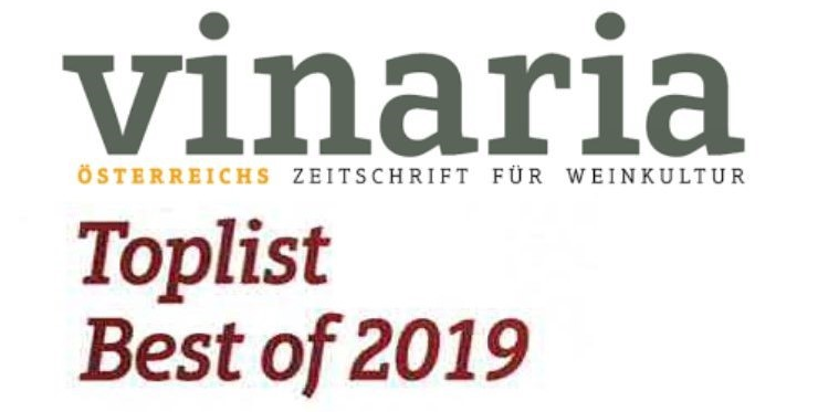 Vinaria Toplist Rotweincuvées Burgenland Best of 2019